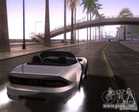 ENBSeries para Pack Ultra Vegetetions para GTA San Andreas sexta pantalla