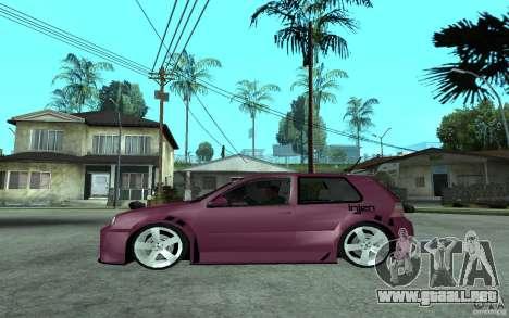 Volkswagen Golf GTI 4 Tuning para GTA San Andreas left