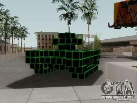 Pixel Tank para la visión correcta GTA San Andreas