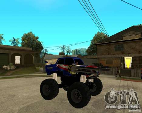 MONSTRUO ZAZ para la visión correcta GTA San Andreas