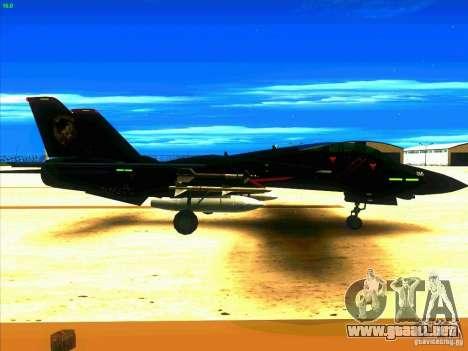 F-14 Tomcat Razgriz para la visión correcta GTA San Andreas