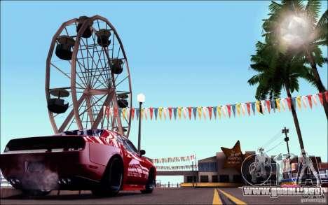 Dodge Challenger Rampage Customs para la visión correcta GTA San Andreas