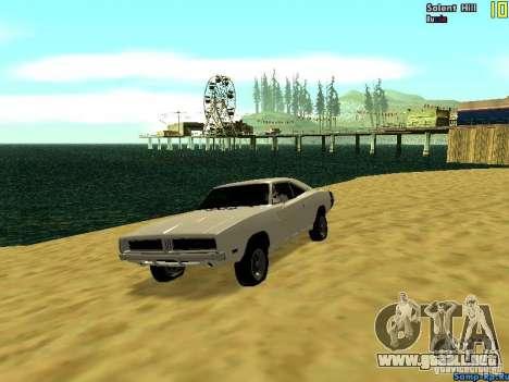 New Graph V2.0 for SA:MP para GTA San Andreas quinta pantalla