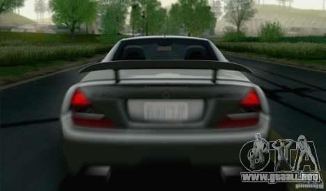 Mercedes-Benz SL65 AMG Black Series para visión interna GTA San Andreas