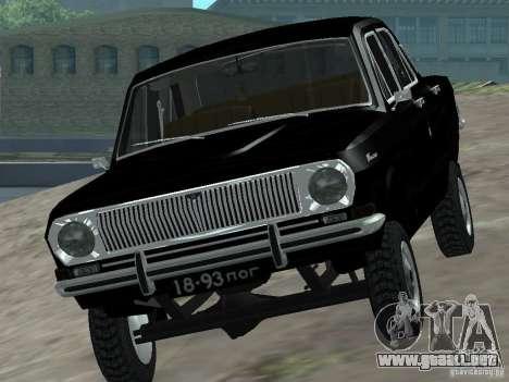 95 VOLGA GAZ-24 para la visión correcta GTA San Andreas