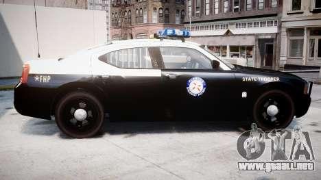Dodge Charger Florida Highway Patrol [ELS] para GTA 4 left