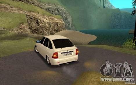 Lada Priora 2172 Hatchback para la visión correcta GTA San Andreas