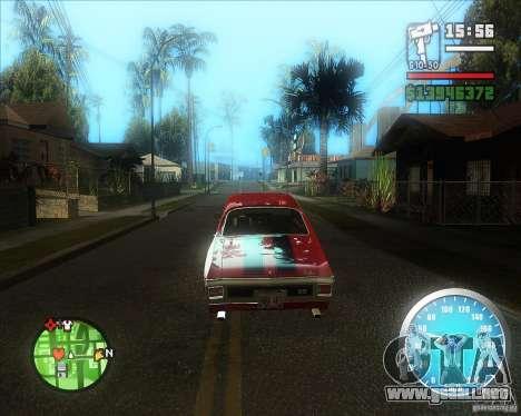 MadDriver s ENB v.3.1 para GTA San Andreas segunda pantalla