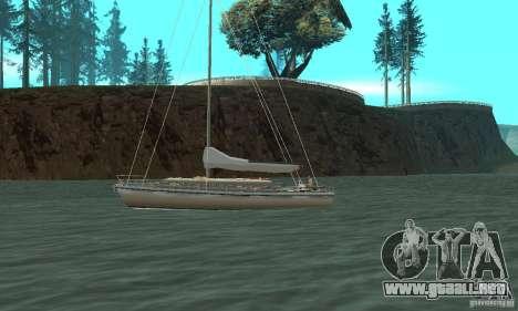 Marquis Segelyacht 09 Textures para GTA San Andreas left