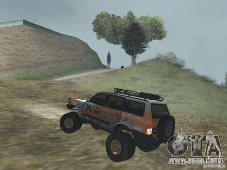 Tornalo 2209SX 4x4 para GTA San Andreas vista posterior izquierda