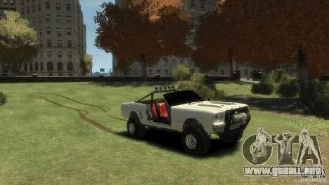 Ford Mustang Sandroadster 1.0 para GTA 4 visión correcta