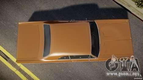 Plymouth Fury III Coupe 1969 para GTA 4 visión correcta