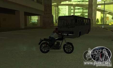 Un jinete fuerte para GTA San Andreas quinta pantalla