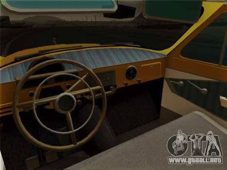 GAS 22 para la vista superior GTA San Andreas
