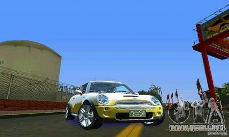 Mini Cooper S para GTA Vice City visión correcta