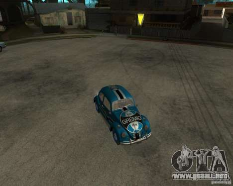 VW Fusca Gremio para GTA San Andreas left
