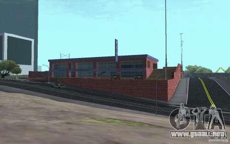 Nuevo concesionario Wang Cars para GTA San Andreas sexta pantalla