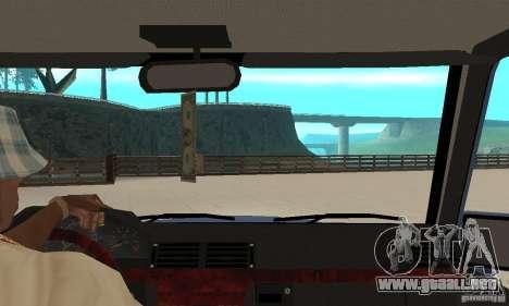 Mercedes-Benz G500 1999 Short [with kangoo v3] para la visión correcta GTA San Andreas