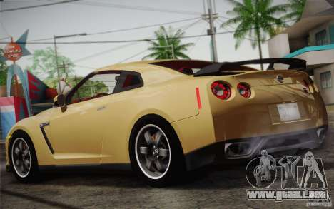 Nissan GTR Egoist para la visión correcta GTA San Andreas