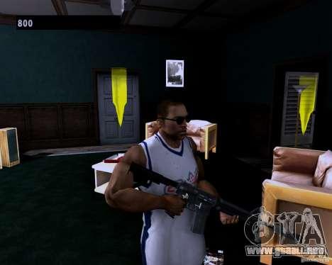 Guns Pack para GTA San Andreas segunda pantalla