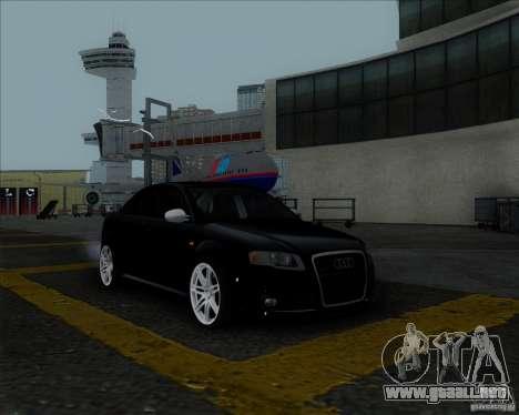 Audi RS4 para la vista superior GTA San Andreas