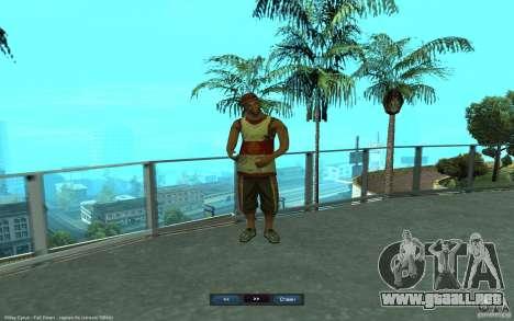 Crime Life Skin Pack para GTA San Andreas tercera pantalla