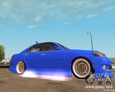 Toyota JZX110 make 2 para la visión correcta GTA San Andreas