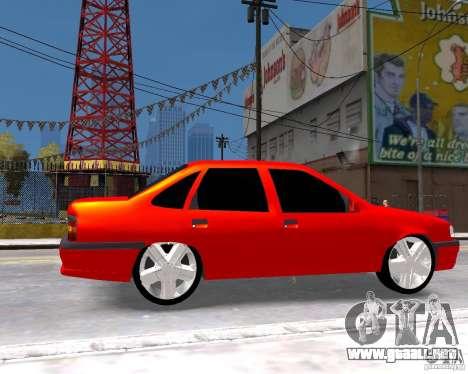 Opel Vectra 1995 para GTA 4 visión correcta
