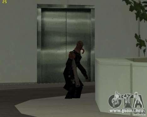 NEMESIS para GTA San Andreas tercera pantalla