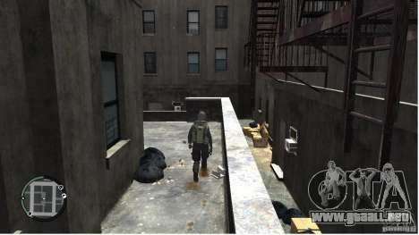 MW2 Ghost Diving Suit para GTA 4 quinta pantalla