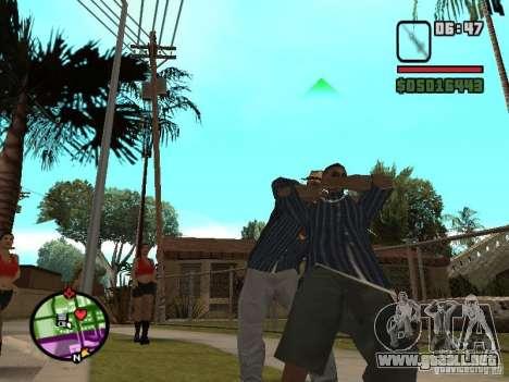 Jeringa para GTA San Andreas sucesivamente de pantalla