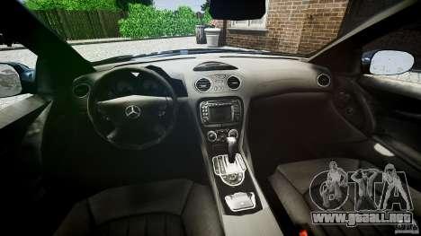 Mercedes Benz SL65 AMG para GTA 4 vista hacia atrás