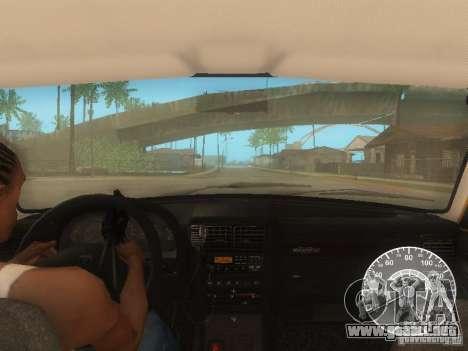Taxi Volga GAZ 3110 para vista inferior GTA San Andreas