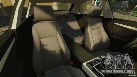 Audi A4 2010 para GTA 4 vista interior