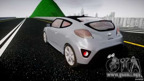 Hyundai Veloster Turbo 2012 para GTA 4 vista lateral
