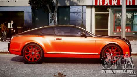 Bentley Continental SS 2010 Le Mansory [EPM] para GTA 4 vista interior