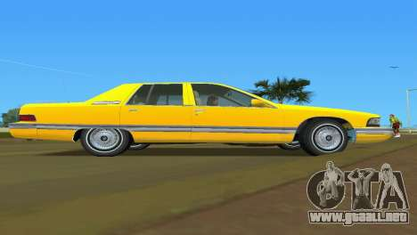 Buick Roadmaster 1994 para GTA Vice City visión correcta