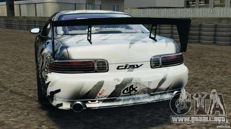 Toyota Soarer Drift para GTA 4 Vista posterior izquierda