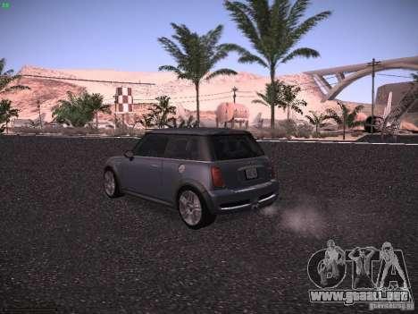 Mini Cooper S para la visión correcta GTA San Andreas