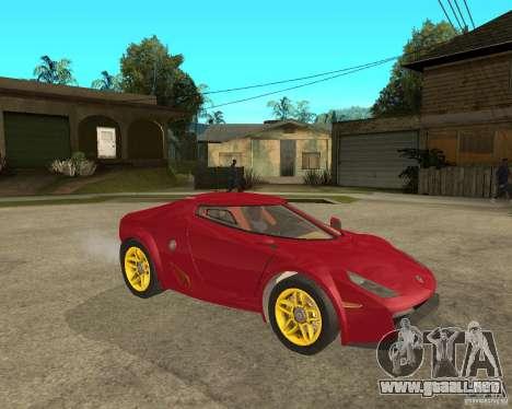 Lancia Stratos Fenomenon para la visión correcta GTA San Andreas