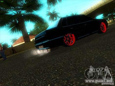 VAZ 2115 Devil Tuning para GTA San Andreas vista posterior izquierda