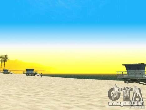 Nuevo Timecyc para GTA San Andreas sucesivamente de pantalla