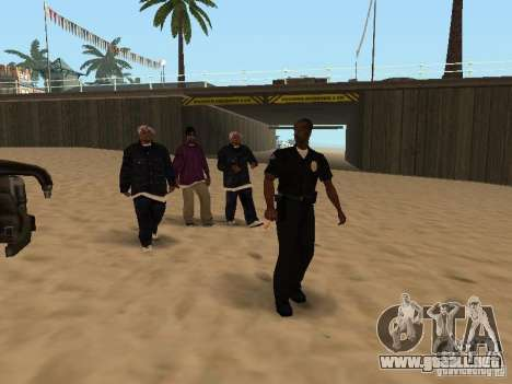 Tenpenny para GTA San Andreas tercera pantalla