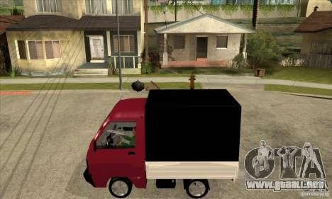 Suzuki Carry Kamyonet para GTA San Andreas left