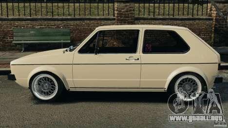 Volkswagen Golf Mk1 Stance para GTA 4 left