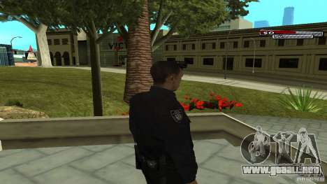 Oficial de policía para GTA San Andreas tercera pantalla