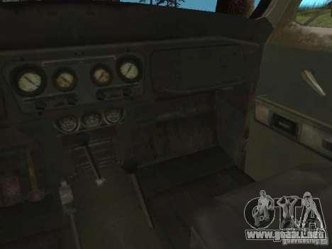 UAZ-31519 de COD MW2 para visión interna GTA San Andreas