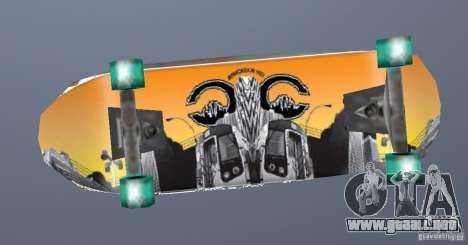 Skateboard Skin 1 para GTA San Andreas segunda pantalla