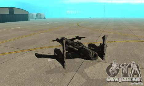 Hydra TimeShift Skin 2 para la visión correcta GTA San Andreas