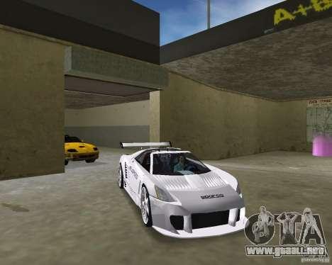Cadillac Cien Shark Dream TUNING para GTA Vice City visión correcta